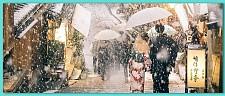一下雪,京都就变成了平安京…